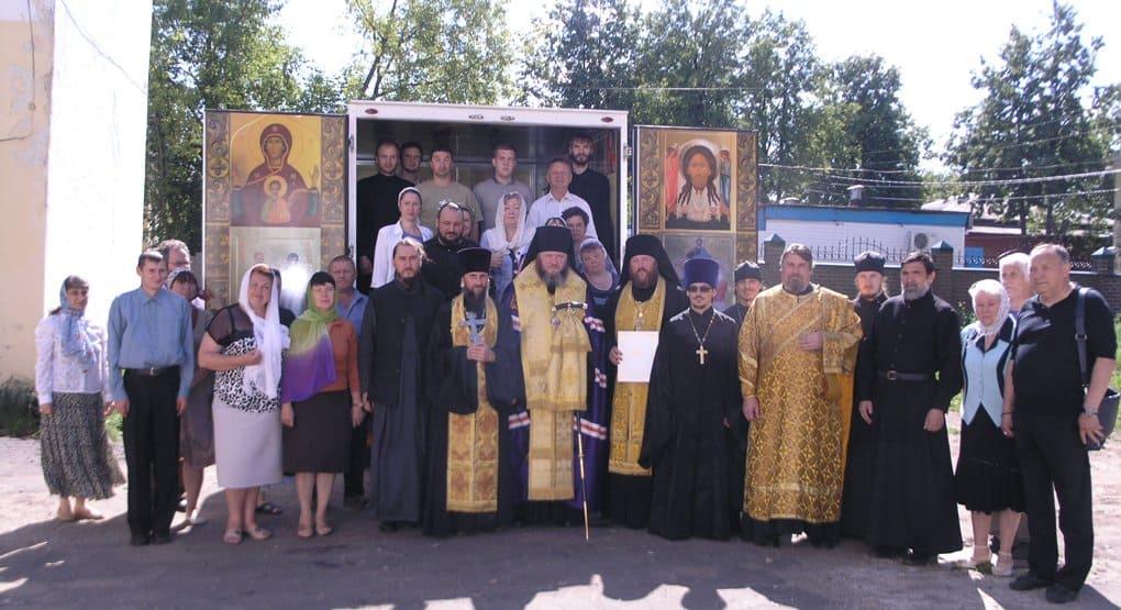 В Кинешме появился автохрам в честь Крестителя Руси