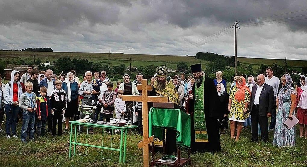 В Воронежской области на месте разрушенной церкви построят новую