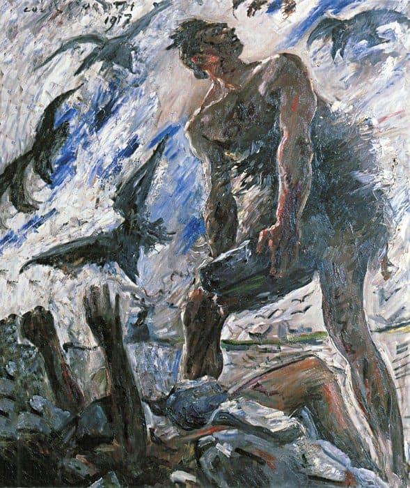 Каин. Ловис Коринт. 1917