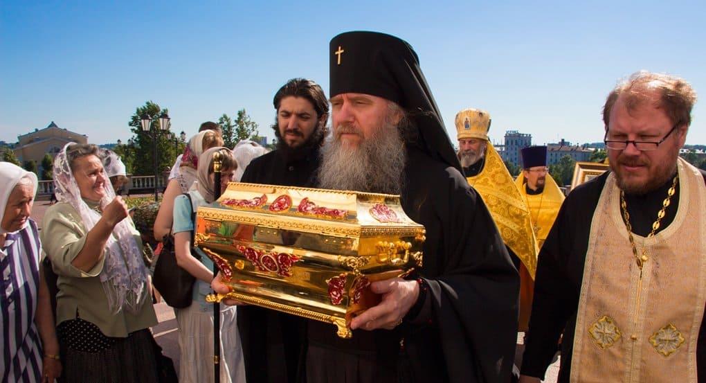 Мощам князя Владимира в Беларуси поклонились более 75 тысяч верующих