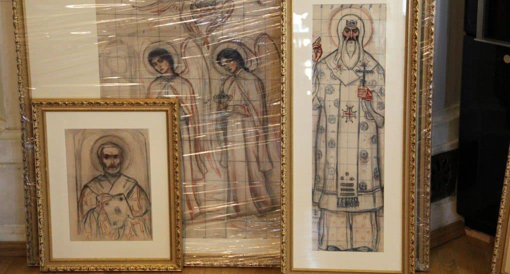 Для Московской духовной академии отреставрированы эскизы-росписи Михаила Нестерова