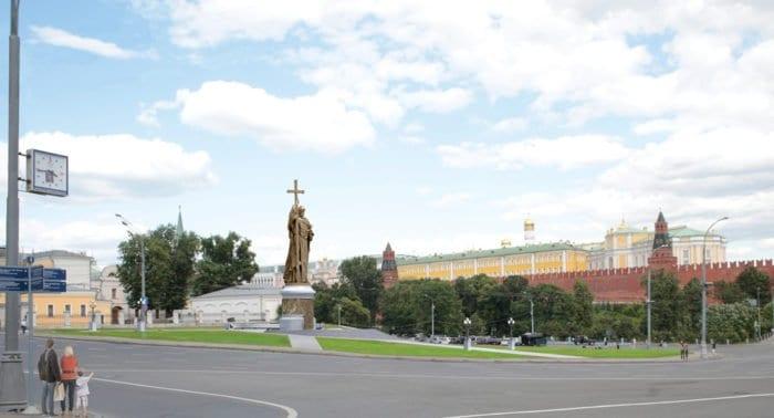 В ЮНЕСКО не одобряют установку памятника князю Владимиру на Боровицкой площади