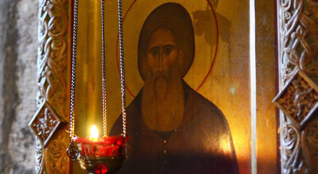 Икона святого Сергия Радонежского замироточила на Ставрополье