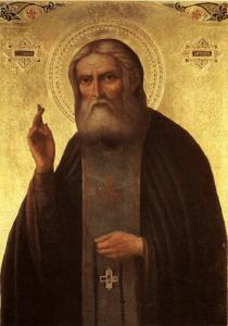Икона святого Серафима Саровкого