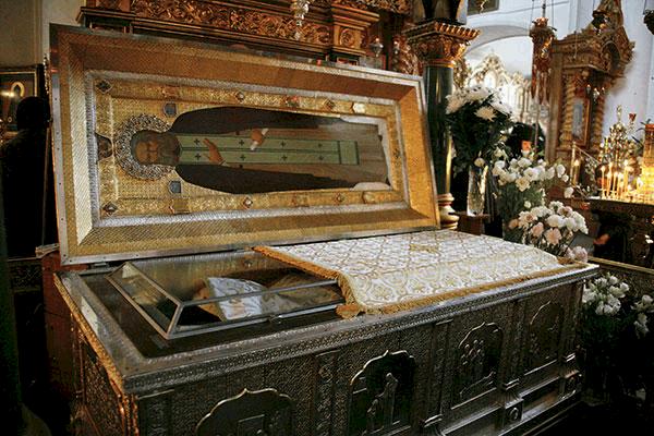 Мощи святого Серафима Саровского