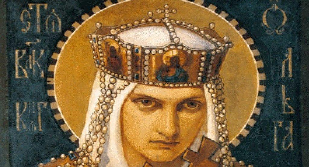 Святая княгиня Ольга. Моменты истории