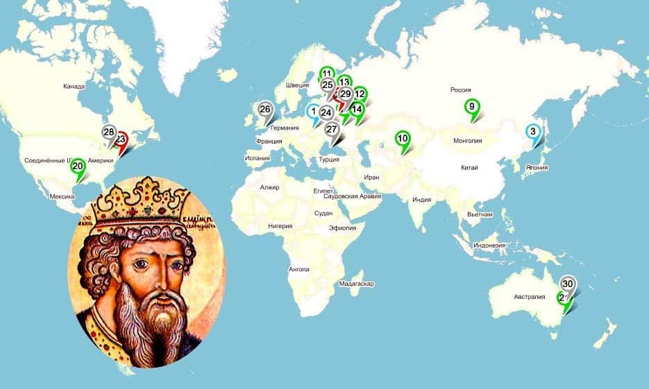 Святой Владимир: больницы, храмы, памятники