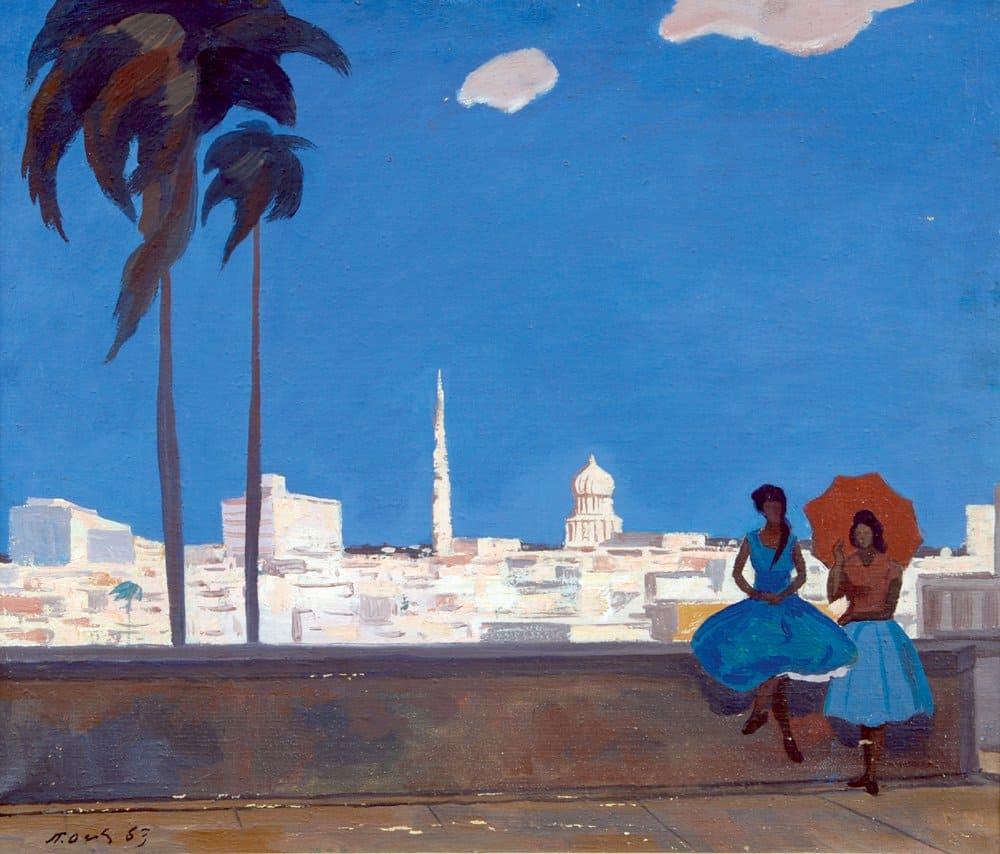 Петр Оссовский «Панорама Гаваны»