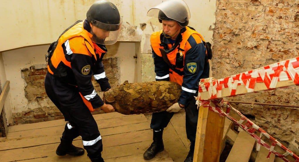 Бомба, обнаруженная в историческом здании Политехнического музея
