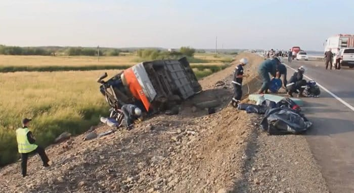 Раненный священник спасал людей после аварии под Хабаровском
