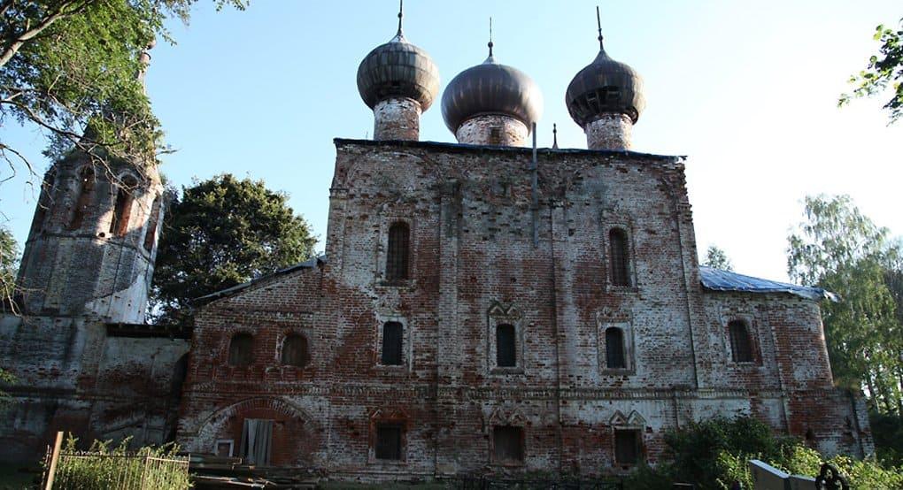 Под Рыбинском восстанавливают храм, в котором крестили Федора Ушакова