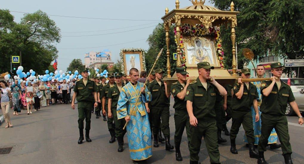 В Приамурье возродили крестный ход с Албазинской иконой