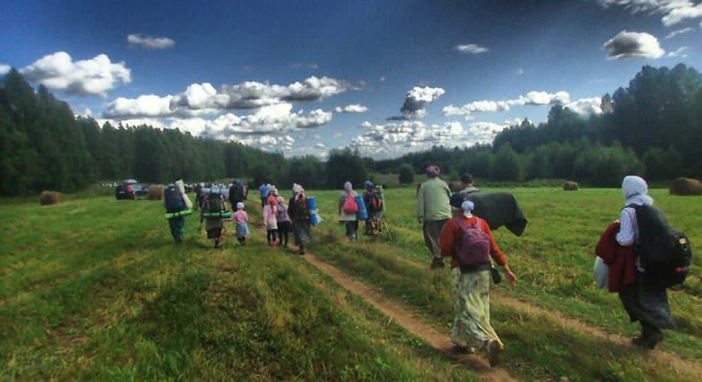 Прикамские паломники прошли уже более тысячи километров