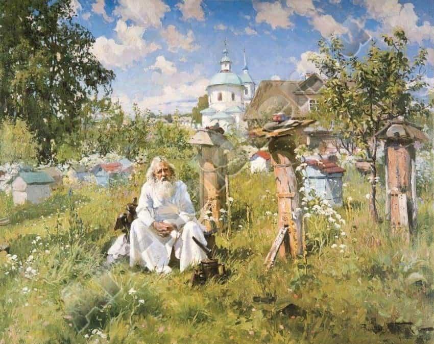 Маковский А. В. На пасеке