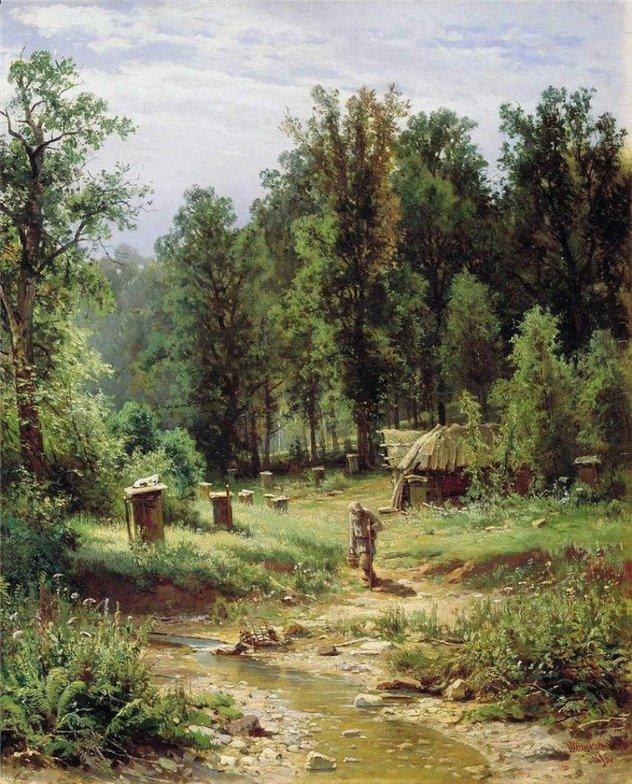 Шишкин И.И. Пасека