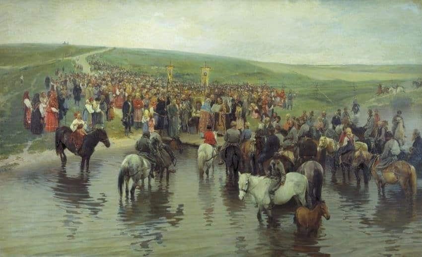 Прянишников И.М. «Спасов день на Севере»...