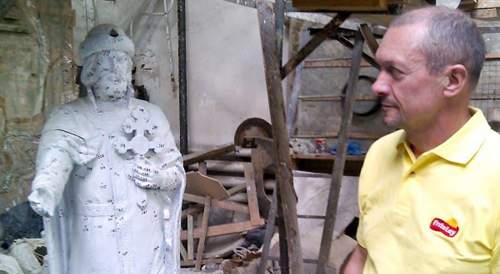 В Смоленске установили памятник князю Владимиру