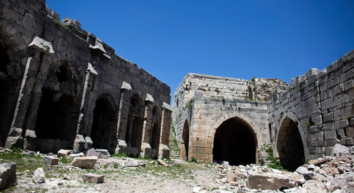 В Сирии экстремистами разрушен монастырь V века