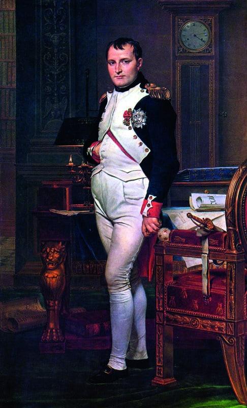Наполеон. Жак Луи Давид, XVII век