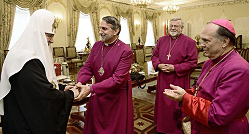 Патриарх Кирилл призвал англикан Северной Америки остаться «верными христианскому посланию»