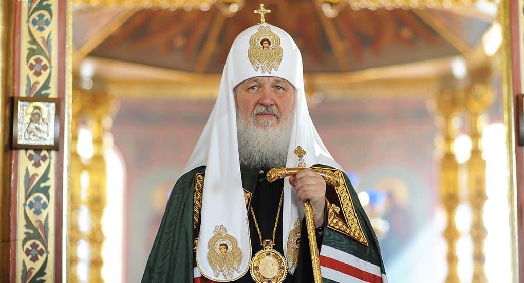 Патриарх Кирилл молится о митрополите Онуфрии и верующих Украины