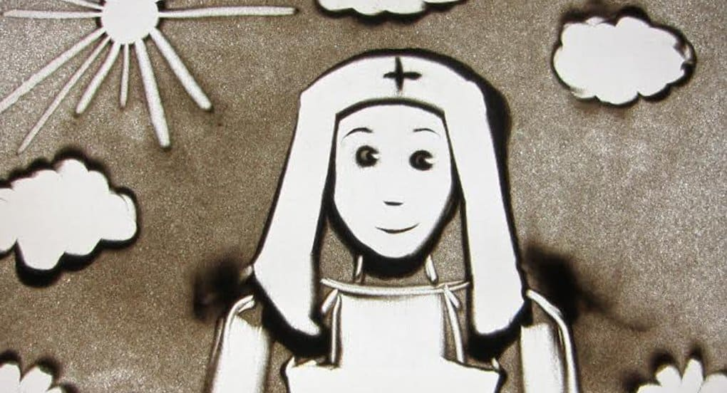 О сестрах милосердия расскажут в мультфильме из песка