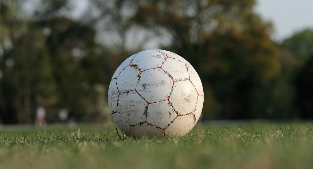 Футбол «за колючкой»