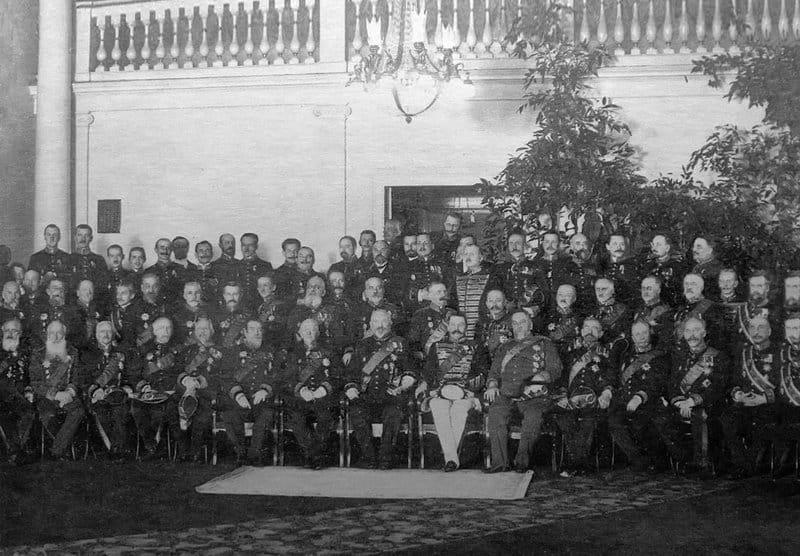 Сенаторы. Фото Карла Буллы. 1914