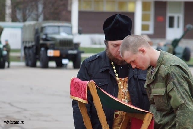 Протоиерей Михаил Васильев: в Воздушно-десантных войсках верующих военнослужащих около 96 процентов