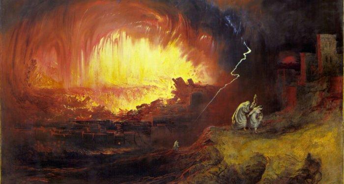 Джон Мартин, Уничтожение Содома и Гоморры