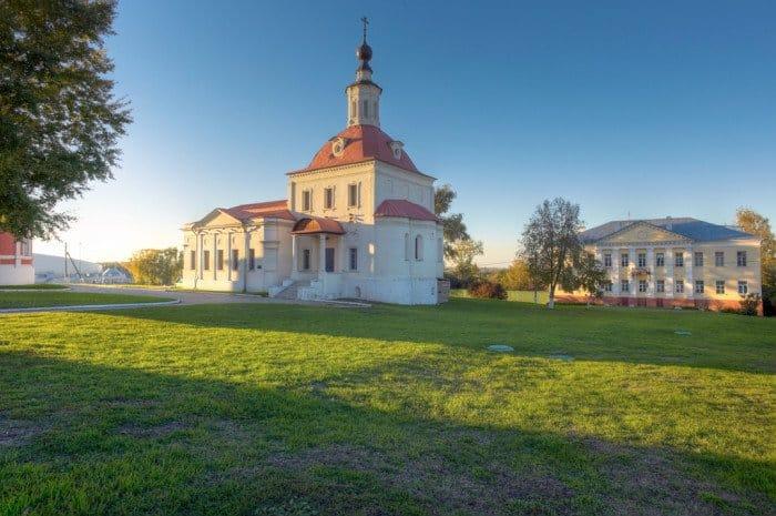 Храм Воскресения Словущего, Коломенский Кремль