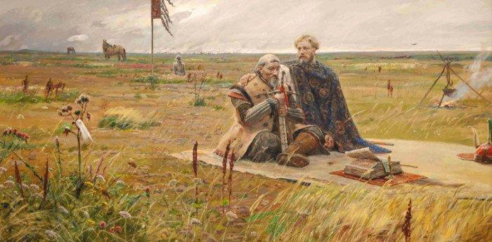 Сартак. Павел Рыженко. Часть триптиха «Солнце земли Русской». 2008–2009