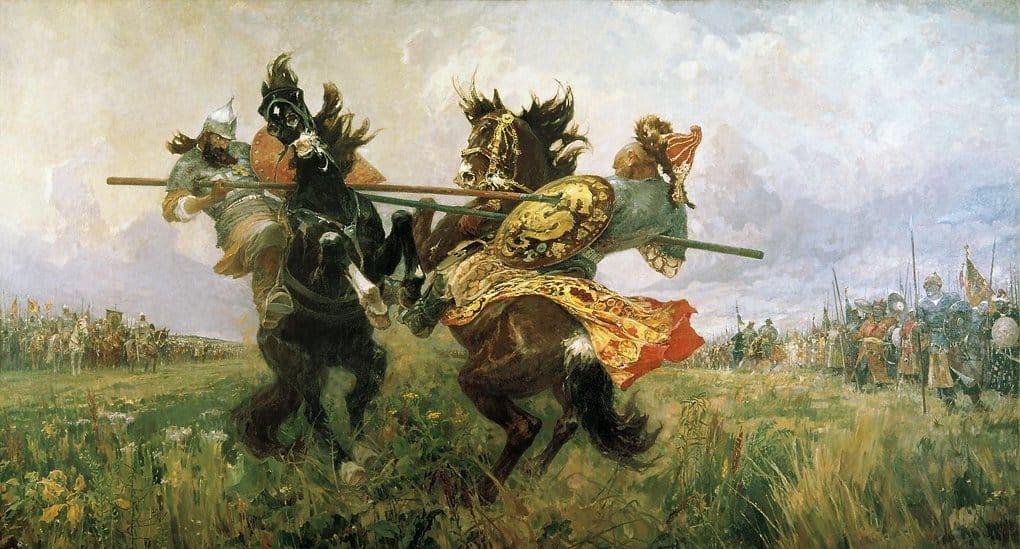 В России вспоминают героев битвы на Куликовом поле
