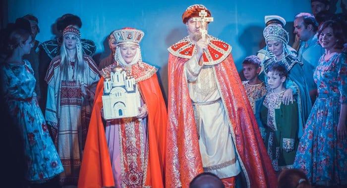 В спектакле театра «Глас» о князе Владимире актеры заговорят на древнерусском