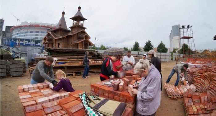 На строительство храма на Ходынке жертвуют мусульмане и индусы