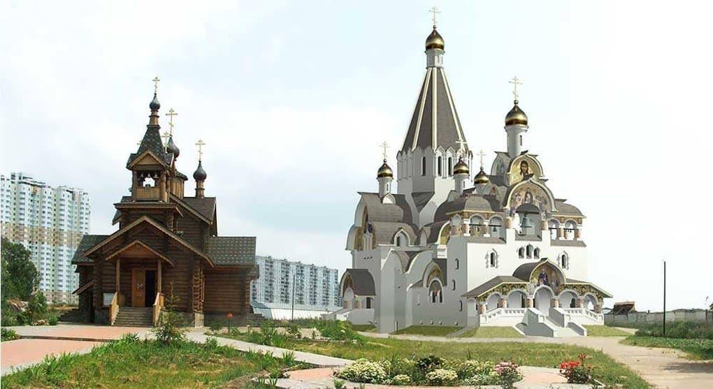 Один из самых высоких храмов Москвы украсит Митино