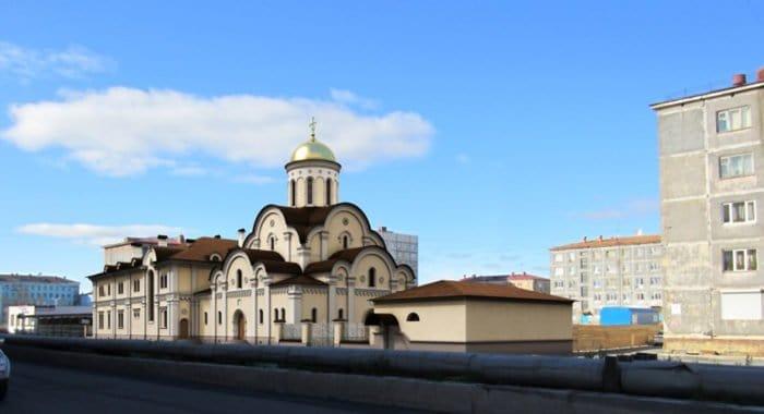Патриарх Кирилл заложил на Крайнем Севере храм новомучеников