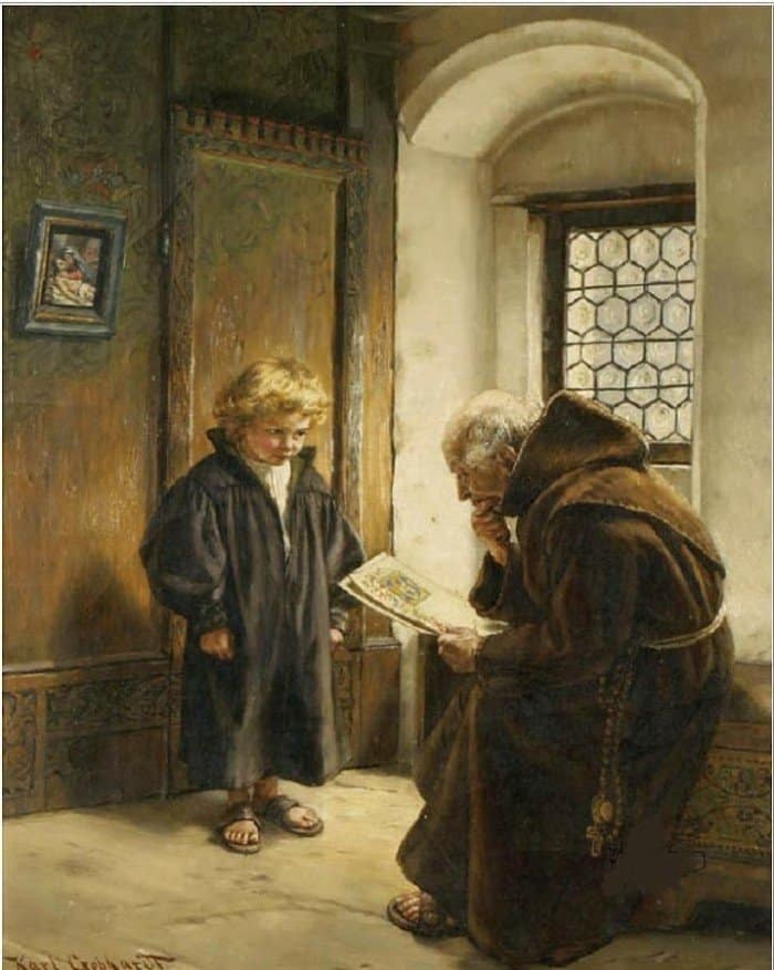 Karl Gephardt. The Young Scribe