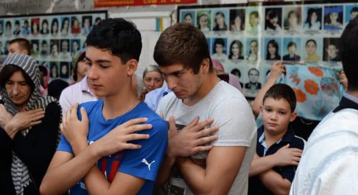 О жертвах бесланской трагедии помолились на Литургии памяти