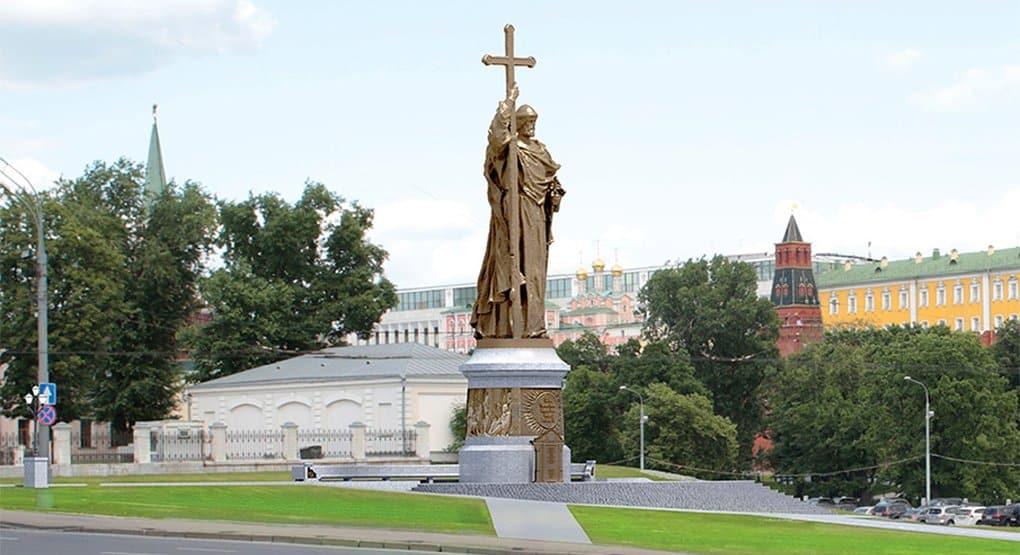 В течение месяца представят финальный проект памятника князю Владимиру