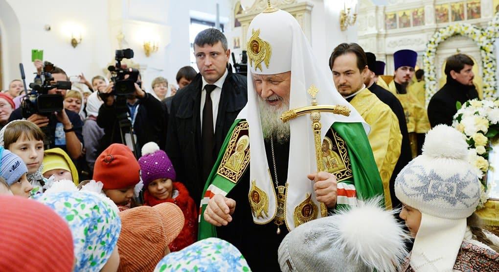 Патриарх Кирилл предостерег родителей от жесткого воспитания детей