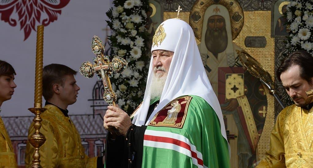 В Норильске патриарх Кирилл помолился о погибших шахтерах