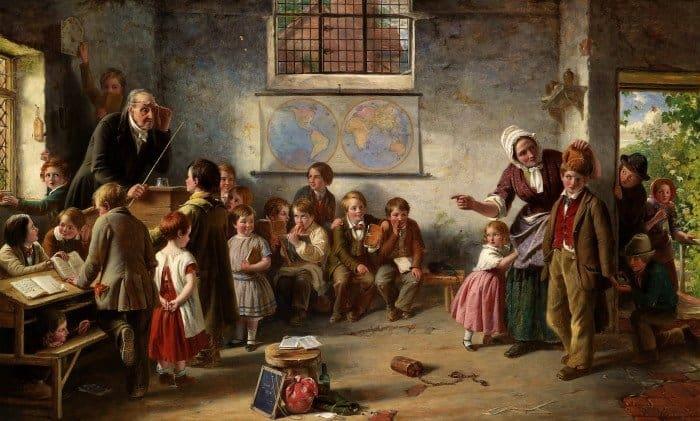 Томас Брукс. Новый ученик. 1854 г.