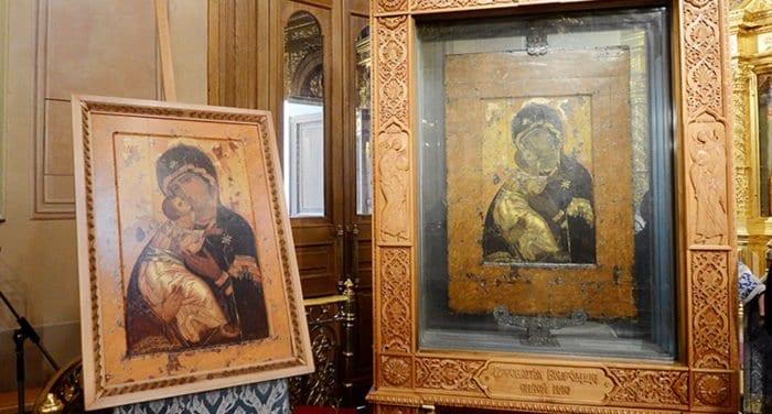Церковь празднует память Владимирской иконы Божией Матери