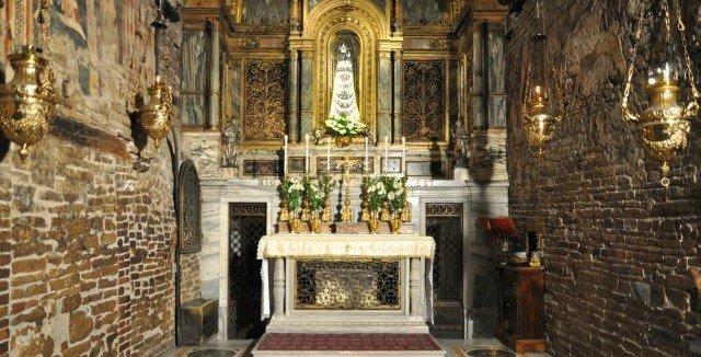 Дом Божией Матери в Лорето. А были ли ангелы?