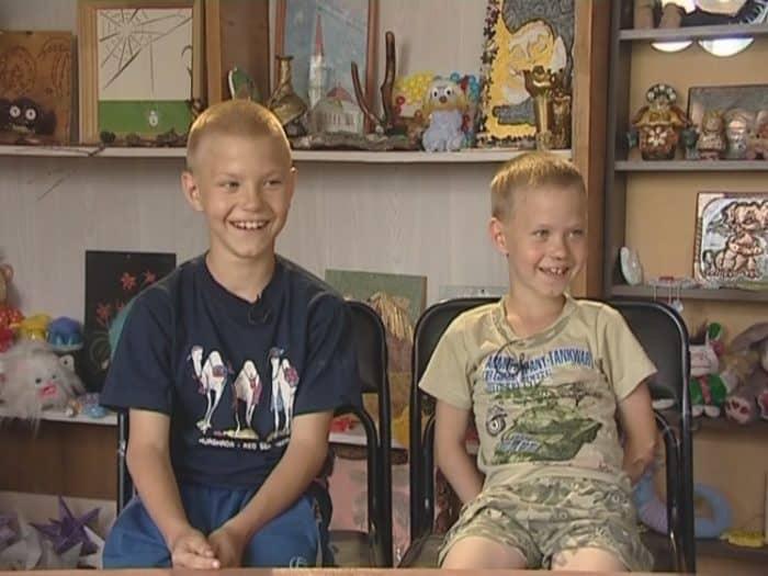 Братья Антон и Никита ищут новую семью