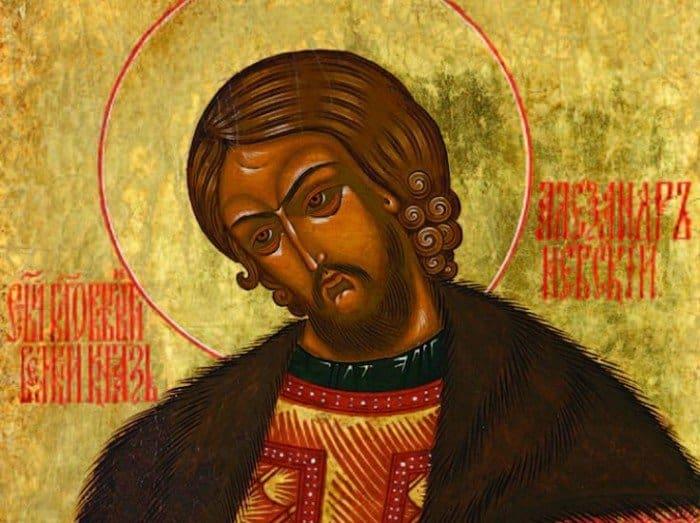 Как узнать, что изображенный на иконе святой был князем?