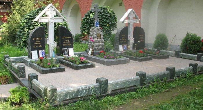 перезахоронение Деникина и Ильина