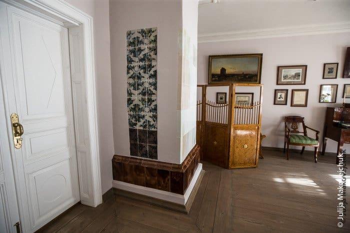 Комната в усадебном доме, посвященная Н.В. Гоголю