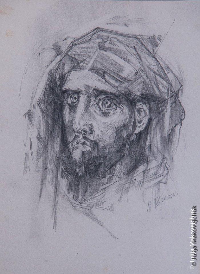 Эскиз Врубеля к росписи Владимирского собора.